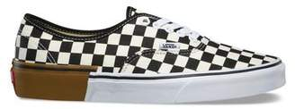 Vans Gum Block Authentic with Checkerboard