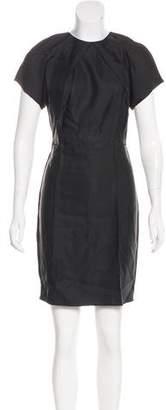 Acne Studios Scoop Neck Knee-Length Dress