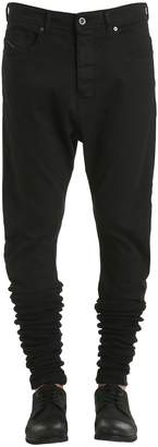 Diesel Black Gold Stretch Denim Jeans W/ Elastic Cuffs