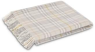 Burberry Check Merino Wool Baby Blanket