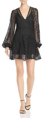 Alice McCall Dark Lady Metallic Crochet Dress
