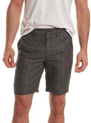 Robert Graham Men's Storm Linen Classic Fit Woven Shorts