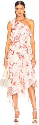Johanna Ortiz Inamorado Dress in Marsala Ecru | FWRD