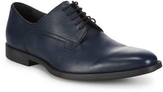 Christian Dior Men's Almond Toe Leather Derbys