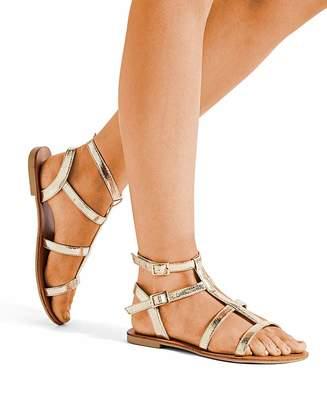 c3a7e9fa6fb Simply Be Sofia Gladiator Sandals Extra Wide Fit