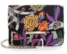 Jason Wu Diane Floral Leather Wallet Shoulder Bag
