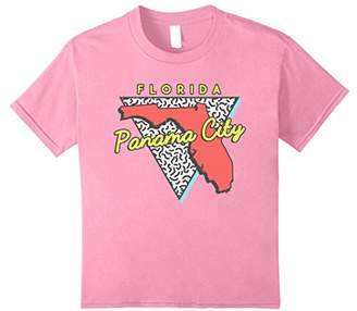 City Beach Panama Florida T Shirt Retro 80s FL Souvenirs