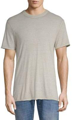 Eleven Paris Nathan Short-Sleeve Heathered Tee
