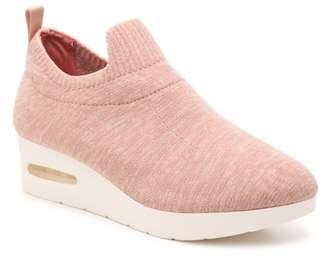 DKNY Angie Wedge Slip-On Sneaker