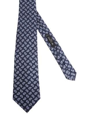 Etro Paisley Printed Tie