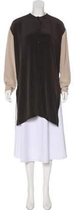 Jeremy Laing Silk Colorblock Tunic