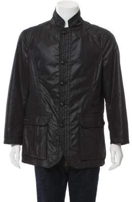 Armani Collezioni Coated Utility Jacket