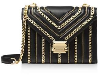 MICHAEL Michael Kors Whitney Chain Inlay Convertible Shoulder Bag