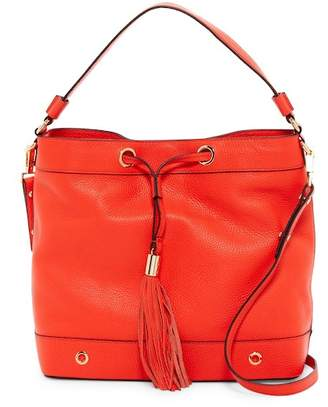 Milly Astor Leather Tassel Hobo