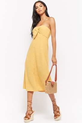 Forever 21 Knotted Tube Dress