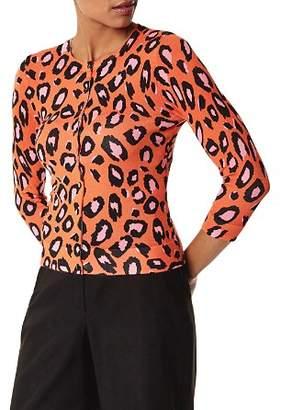 Karen Millen Leopard Print Cardigan