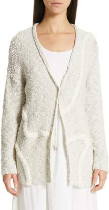 Fabiana Filippi Embroidered Long Cardigan