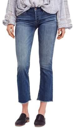 Free People Austin Raw Hem Ankle Jeans