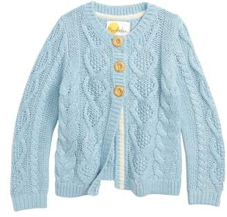 Boden Mini Cozy Cable Cardigan