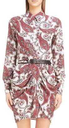 Isabel Marant Tania Techno Paisley Shirt