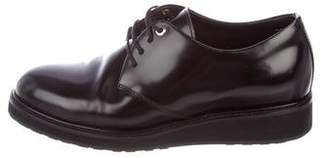 WANT Les Essentiels Leather Round-Toe Oxfords