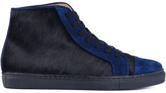 Thakoon panelled hi-top sneakers