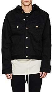 Fear Of God Men's Insulated Cotton Trucker Jacket - Black