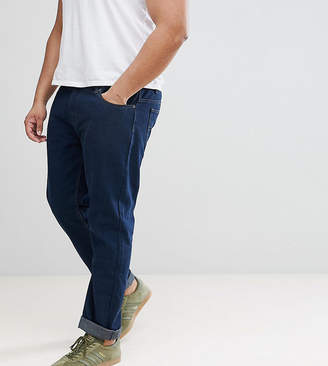 Loyalty And Faith PLUS Regular Fit Jeans in Darkwash Blue