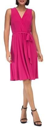 Bobeau B Collection by Addie Belted Jersey Dress