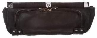 Lanvin Leather Frame Clutch