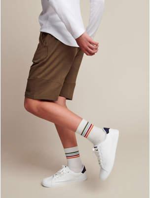 George Khaki Beyond Cool Jersey Shorts