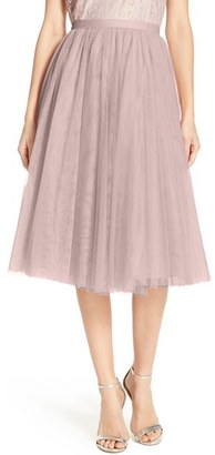Women's Jenny Yoo 'Lucy' Tulle Skirt $190 thestylecure.com