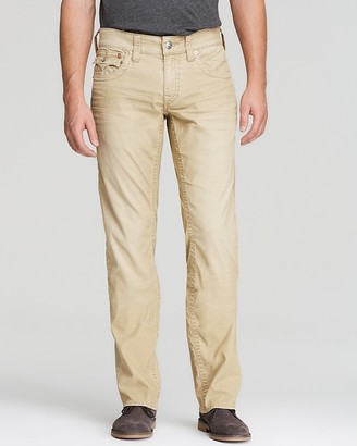 True Religion Jeans - Ricky Relaxed Fit Cords $159 thestylecure.com