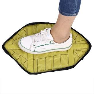 Dilwe 1 Pair Hands-free Reusable Waterproof Anti-slip Automatic Shoe Cover for Home Office, Reusable Shoe Cover, Automatic Shoes Cover