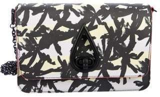 Kenzo Palm Print Chain Crossbody Bag
