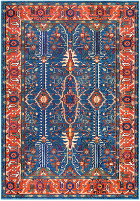 nuLoom Vintage Maurer Persian Machine-Made Synthetic Traditional Rug