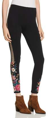 Johnny Was Katina Embroidered Leggings