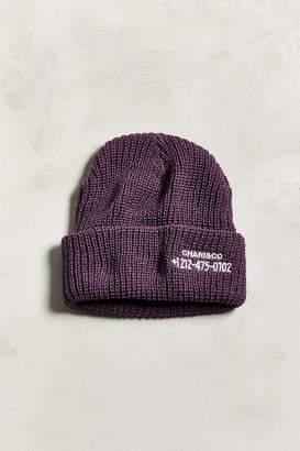 Co CHARI & Phone Number Beanie