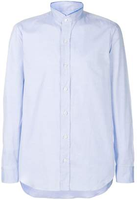 Salvatore Piccolo band collar shirt