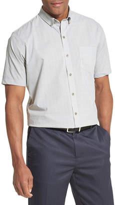 Van Heusen Flex Short Sleeve Non Iron Stretch Button-Down Shirt
