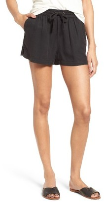 Women's Obey Charlie Shorts $59 thestylecure.com