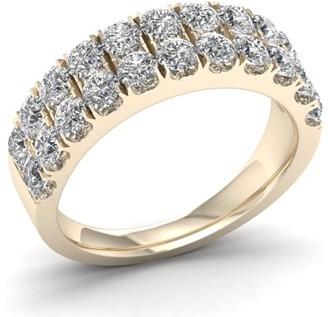 Imperial Diamond Imperial 1 1/2ct TDW Diamond 14K Yellow Gold Wedding Band