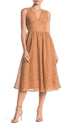 NSR Maria Floral Lace Dress