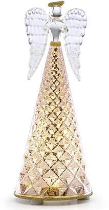 Lenox Radiant Light Lit Glass Angel Figurine