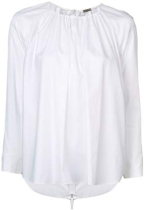ADAM by Adam Lippes long-sleeve flared blouse