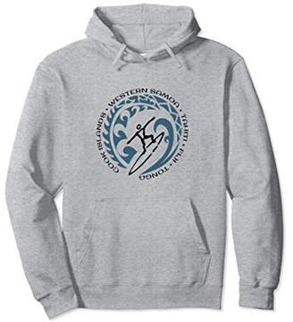 South Pacific Surfing Hoodie Top Surf Lovers & Fans