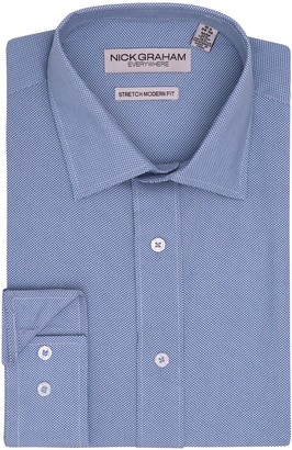 Nick Graham Men's Everywhere Modern-Fit Stretch Dress Shirt