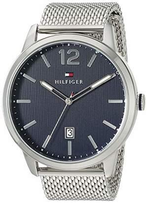 Tommy Hilfiger Men's Quartz Watch with Stainless Steel Strap