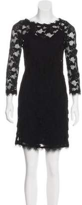 Rebecca Taylor Lace Mini Dress