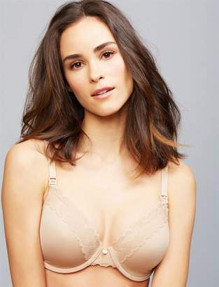 A Pea in the Pod Natori Full Coverage Lightly Lined Nursing Bra